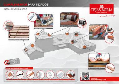 HISPALYT - Asociación Española de Fabricantes de Ladrillos y Tejas de Arcilla Cocida - Tejas Borja, nuevo catálogo y nueva línea de productos | Terre cuite Espagne | Scoop.it