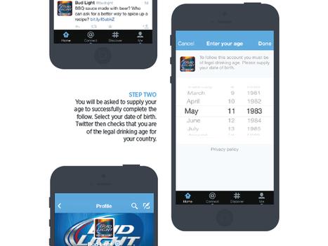 Twitter va vérifier votre âge dès que vous voudrez suivre des marques d'alcool | Fredzone | Social Media & Community Management | Scoop.it