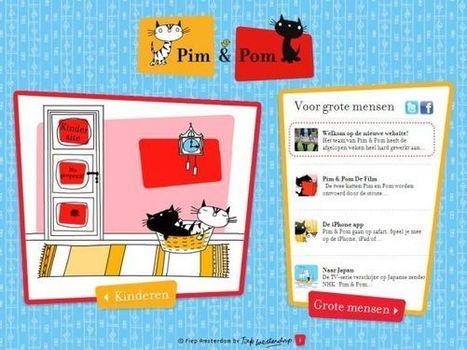 Pim en Pom, website voor kinderen van 3 tot 6 jaar « It's all in the Cloud! | Kleuters en ICT | Scoop.it