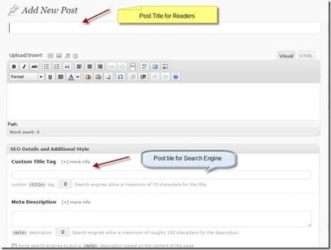 How to Write Perfect SEO Optimized Articles in WordPress | WordPress help | Scoop.it
