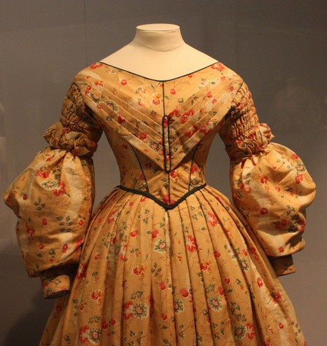 Google Image Result for http://upload.wikimedia.org/wikipedia/commons/5/50/BLW_Day_Dress_(detail)_1836_-_1840.jpg | English Faction Year 10 | Scoop.it