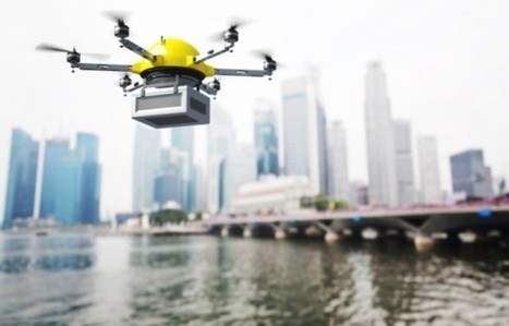 UAV Drone Delivers to a Ship at Sea | Unmanned Aerial Vehicles (UAV) | Scoop.it