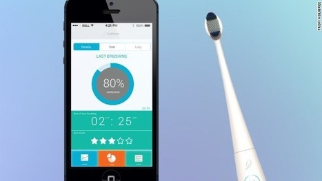 'Smart' toothbrush grades your brushing habits | Radio Show Contents | Scoop.it