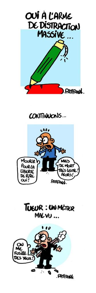 BD et Handicap: nos dessinateurs sont tous Charlie! | Handicaps dans les médias | Scoop.it