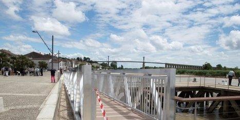 Le nouveau ponton de Tonnay-Charente cofinancé par l'Union européenne | Fonds européens en Aquitaine Limousin Poitou-Charentes | Scoop.it