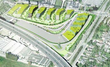 Verwaarloosd Machels industrieterrein wordt woonproject 'Green Wing' | Bruxel | Scoop.it