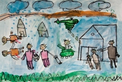 How Syrian Children Are Drawing and Using Art Therapy to Heal the Trauma from War | VICE United States | Contemporary art | Scoop.it