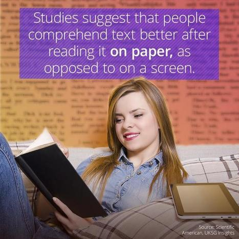 Should you read from paper or a screen? | Edumorfosis.it | Scoop.it