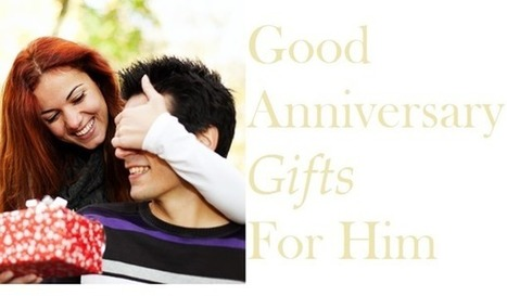 10 Good Anniversary Gifts for Him | Gift Clown | Best Birthday Planners | Scoop.it