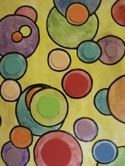 a faithful attempt: 'Shapes on Shapes' Watercolour Painting   billedkunst   Scoop.it