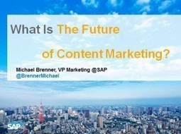Trends And Predictions On The Future Of Content Marketing [Slideshare] | journalism | Scoop.it