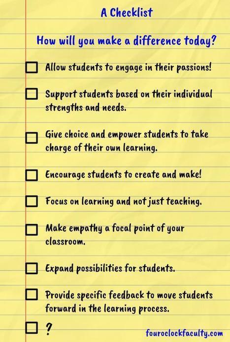 A Checklist   Classroom Technology Integration and Project Based Learning   Scoop.it