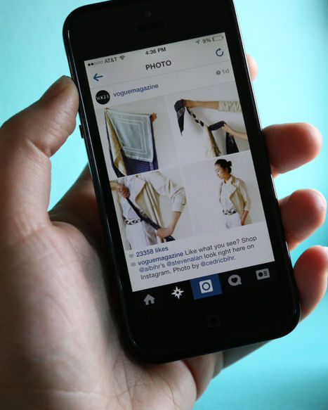 'Vogue' Makes Its Instagram Shoppable With Liketoknow.It | Fashion and Digital | Scoop.it