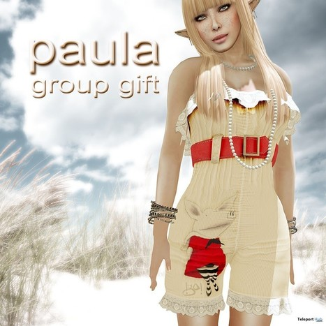 Paula Outfit Group Gift by !gO! | Teleport Hub - Second Life Freebies | Second Life Freebies | Scoop.it
