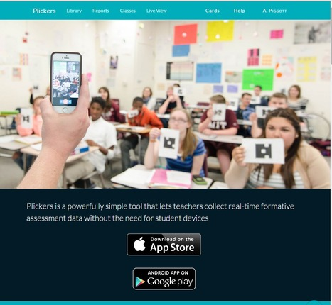 Plicker- use a simple app to run interactive quizzes with not hard ware required. It is a low tech - high tech solution! | Innovative Teaching and Learning Ideas AAP | Scoop.it