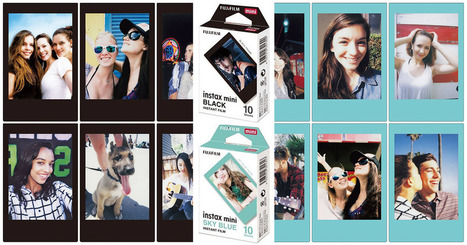 Fujifilm to Launch New Black and Blue Instax Film Colors | iPhoneography-Today | Scoop.it