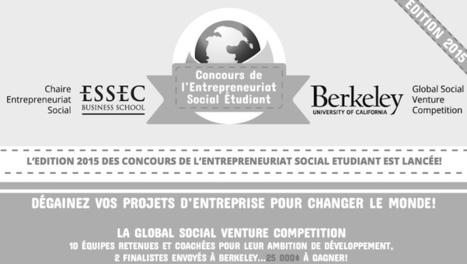 GSVC 2015, le concours de l'Entrepreneuriat Social Etudiant - Garage21 | Articles Educations & MOOC & e-Formations | Scoop.it