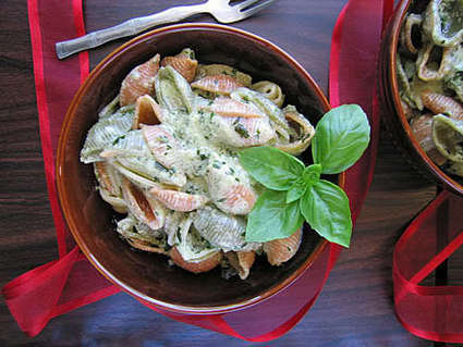 A Healthy Creamy Pasta   The Man With The Golden Tongs Goes All Out On Health   Scoop.it