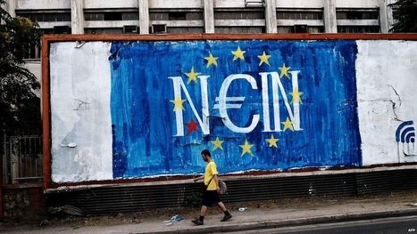 Greek debt crisis: ECB not raising funding limit - BBC News | CLOVER ENTERPRISES ''THE ENTERTAINMENT OF CHOICE'' | Scoop.it