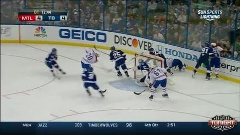 Canadiens at Lightning / Game Highlights - NHL VideoCenter | Stanley Cup Playoffs | Scoop.it