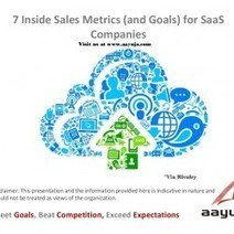 7 Inside Sales Metrics (and Goals) for SaaS Companies   Visual.ly   Sales Management   Scoop.it