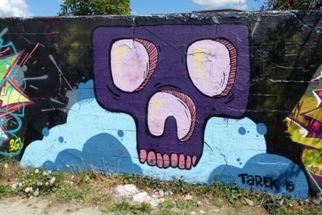 Trois skulls de Tarek à Rennes | Les créations de Tarek | Scoop.it