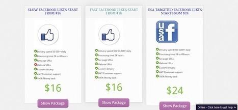 Get Facebook Likes | Buy Facebook LIkes | Scoop.it