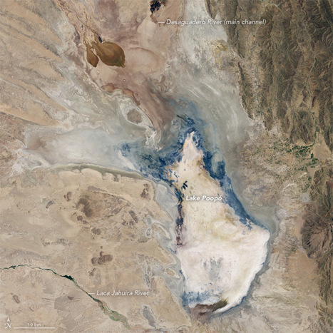 The Human Hothouse Turns Bolivia's Second Largest Lake into a Withered Wasteland | GarryRogers Biosphere News | Scoop.it