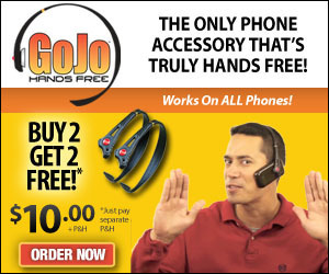 GoJo Hands Free Headset As Seen On TV | Electronic Gadgets and Gizmos | Scoop.it