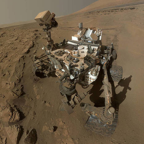 Curiosity livre un panorama à 360° de la planète Mars   Thierry's TechNews   Scoop.it