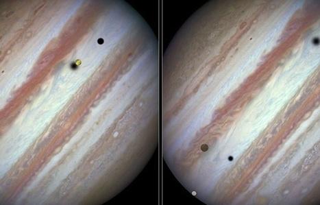 Hubble saisit une rare conjonction de trois lunes de Jupiter | The Blog's Revue by OlivierSC | Scoop.it