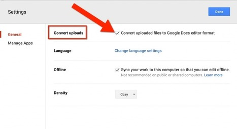 New Google Drive: Always Convert Office Documents   Using Google Drive in the classroom   Scoop.it