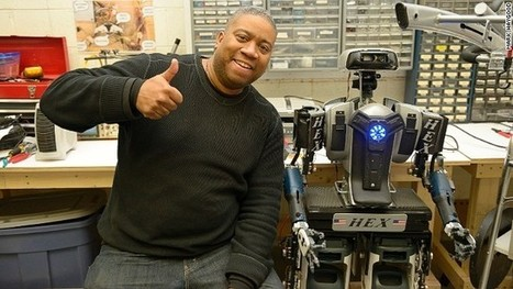 The real Robocop: Ex-policeman builds robot from household goods | mrlscience8G | Scoop.it