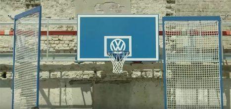 (Buzz) Volkswagen transforme les places de parking vides en terrains de basket | A.S.2.0 - 12 | Scoop.it