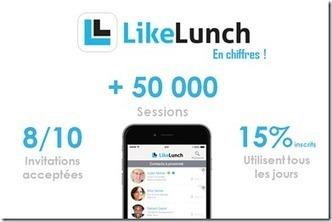 LikeLunch : réseauter autour d'une bonne table ! | Outils CM, veille et SEO | Scoop.it