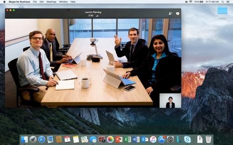 Skype Entreprise arrive enfin sur Mac | Actualité Social Media : blogs & réseaux sociaux | Scoop.it