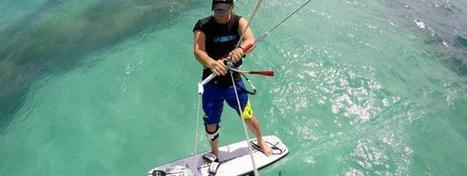 Alex Caizergues : Session kitesurf en Martinique (vidéo) - meltyXtrem | Kitesurf et Kitefoil | Scoop.it