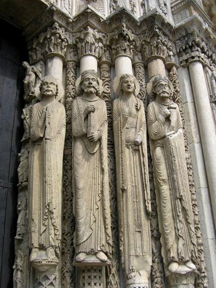 Portada Real. Catedral de Chartres | Miradas CREHA | EnsimismArte | Scoop.it