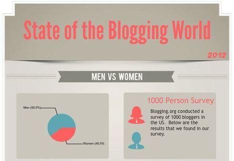 El estado actual de la blogosfera en una infografía | Social Media Director | Scoop.it