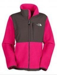 Fuchsia Grey Denali Fleece Jacket North Face For Women | winter wear | Scoop.it