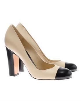 Browns fashion & designer clothes & clothing | GIANVITO ROSSI | Leather court shoes with contrasting toes | Creative Heights: Reinventing The Heel of Designer Shoes. | Scoop.it