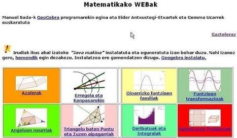 06 GeoGebra - MateGuay   MATEmatikaSI   Scoop.it