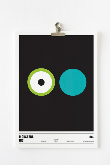 14 Minimal Movie Posters Designed Using Only Circles | Graphic Design | Scoop.it