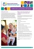 Newsletter 35: Collaborative partnerships with families NQS PLP | CHCECE005 Topic 4 - Family relationships | Scoop.it