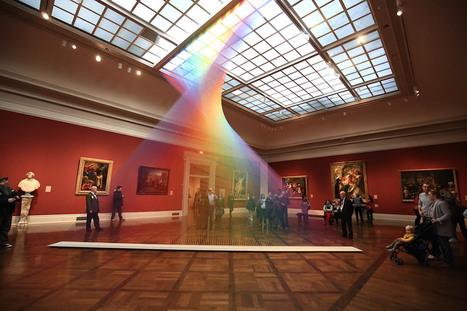 Une œuvre d'art Arc-en-Ciel dans un musée ! | Inspiration et créativité | Scoop.it