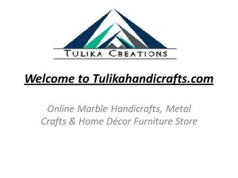 Exclusive Collection of Indian Marble Handicrafts | Marble Handicrafts & Furniture Shopping | Scoop.it