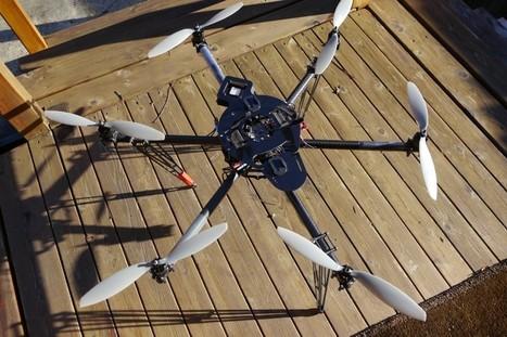 Quadrocopter Cinestar 6 Custom Built RTF Video Drone GOPRO ... | microdrones | Scoop.it