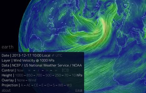 Carte des vents mondiale intéractive | CULTURE MARITIME | Scoop.it