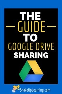 The Guide to Google Drive Sharing | 21st Century Technology Integration | Scoop.it