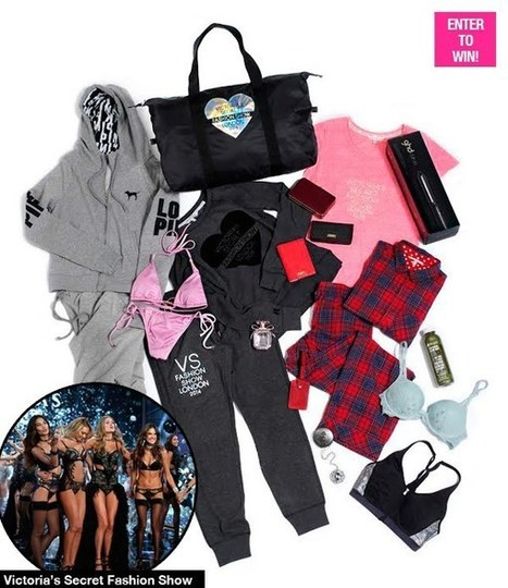 Victoria's Secret Fashion Show 2014: WIN Official VIP Model GiftBag | I Love Celebrity Styles Fashion News. Fashion Designers Models Trendsetters Daily Notes Agenda Guide Style Trends Magazine Calendar Planner News Fashion days and deals Celebrity styles | Scoop.it